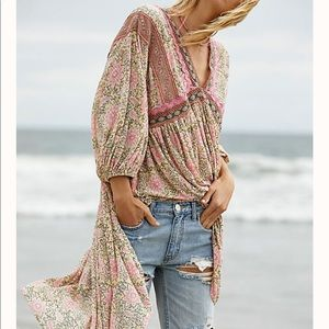 NWT FREE PEOPLE MOON CHILD MAXI TOP